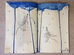 Tulips. Tulipes. Тюльпаны. (maria.tchaykovskaya) Tags: скетчбук скетч артжурнал карандаш arttherapy арттерапия artjournal pencil crayon sketch sketchbook visualjournal художественныйдневник тюльпаны tulipes tulips