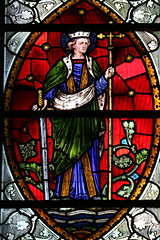 England's Protomartyr (Lawrence OP) Tags: stalban saint martyr protomartyr england rosaryshrine london stdominics priory stainedglass