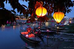 Boat Wedding (RedCheese) Tags: wedding bride groom river lantern