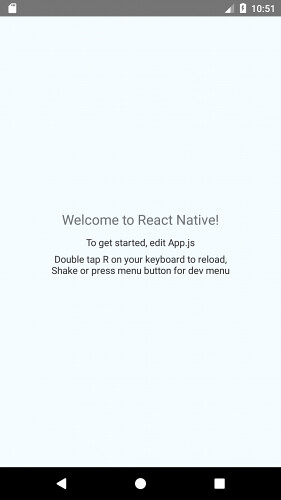 React native sample