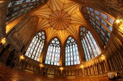 Chapter House (sfryers) Tags: yorkminster stpeters cathedral chapterhouse historic gothic architecture arches york yorkshire falcon samyang 8mm 135 fisheye