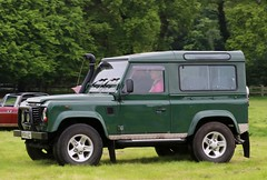 M764 ACC (Nivek.Old.Gold) Tags: 1994 land rover defender 90 tdi station wagon 2495cc