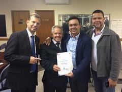 Entrega de Título de Cidadão Honorário - Sr. Abílio