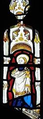 Stamford - St John the Baptist Church - Medievel Stained Glass (Glass Angel) Tags: stamford lincolnshire stjohnthebaptistchurch medievel stainedglass churchesconservationtrust stjohn