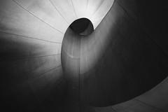 Art Gallery of Ontario (mcleanab) Tags: staircase art gallery ontario toronto curved surfaces geometry black white canada kanada canon mirrorless camera m6 eos