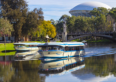 Popeye II and III ( Sarah ) Tags: photography vibrancy riverbank landscape canon 1200d river vibrant australia adelaideoval popeye boat southaustralia rivertorrens adelaide colourful canon1200d