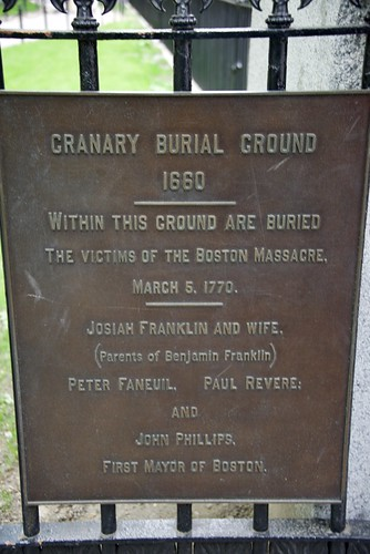 Granary Burial Ground 1 sign