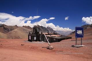 Paso Cristo Redentor de los Andes, Chilean border station