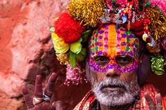 Portrait : Colourful Sadhu 3015-2 (Ursula in Aus (Resting - Away)) Tags: asia kathmandu nepal pashupatinath ggphotoworkshop