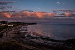 Evening beach scene (Peter Leigh50) Tags: beach shore sand sea seascape seaside clouds cloudscape sunset fujifilm fuji xt2 evening water landscape landschaft
