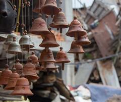 Pot bells in Potters Square (SamKirk9) Tags: nepal kathmandu bhaktapur potterssquare