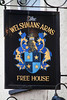 The Welshmans Arms (NottsExMiner) Tags: pub sign brewery local inn hotel traditionalandnotsotraditionalukpubsigns ukpubsigns pubsigns oldnewpubsandsigns canoneos7d sigma70200mmf28apodghsm pembrokedock wales