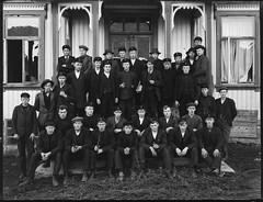 Holt Landbruksskole (Avtrykket) Tags: holtlandbruksskole elev klassebilde skolebilde tvedestrand arendal norge