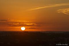 Entardecer (Enilton Kirchhof) Tags: fotoeniltonkirchhof parnamirimrn riograndedonorte parnamirim rn brasil sunset entardecer sky goldensky goldenhour sun sol pordosol canoneos6d