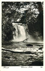 Chania Falls (Michael Jefferies) Tags: africa kenya nyeri chaniafalls aberdares waterfall postcard