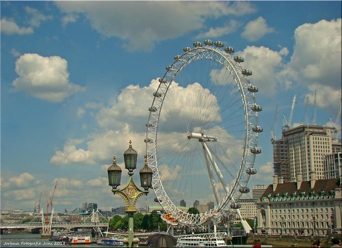 London, GB - Riesenrad (London Eye)