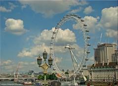 London, GB - Riesenrad (London Eye)