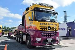 DSC_0024 (richellis1978) Tags: truck lorry haulage transport logistics cannock ruttle plant heavy arocs mercedes benz mp4 po64kyy