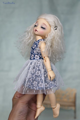 4H5A4633c (Yumi♡) Tags: summer dress doll outfit bjd littlefee yumistudio handmade ooak sewing