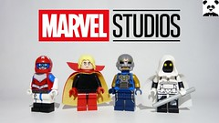 The Future of the MCU...? (Random_Panda) Tags: lego figs fig figures figure minifigs minifig minifigures minifigure purist purists character characters comics superhero superheroes hero heroes super comic book books captain britain adam warlock nova moon knight mcu studios