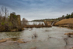 Holliday Dam - Saluda River (DT's Photo Site - Anderson S.C.) Tags: canon 6d sigma 35mm14 art lens holliday dam upstate southcarolina belton honea path scenic river landscape rapids hydroelectric electricity shoals recreation outdoor rural country america usa southeast saluda stream