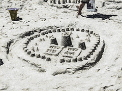 Feast Of Lanterns 02 (davidseibold) Tags: america beach california feastoflanterns jfflickr montereycounty pacificgrove painting photosbydavid postedonflickr sand sandcastle unitedstates usa