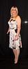 Blush pink silk dress (bethany_labelle) Tags: silk satin dress silky slinky trans transvestite stilettos