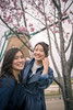 Portrait of young sisters under cherry tree (Apricot Cafe) Tags: img84050 asia asianandindianethnicities healthylifestyle japan japaneseethnicity japaneseculture tamronsp35mmf18divcusdmodelf012 candid carefree casualclothing charming cheerful cherryblossom cherryblossomshanami cherrytree chibaprefecture colorimage comfortable copyspace crossprocessed enjoyment happiness leisureactivity lifestyles lookingatcamera onlyjapanese outdoors people photography portrait realpeople relaxation sister smiling springtime standing sustainablelifestyle togetherness toothysmile tourim tourism tourist traveldestinations twopeople waistup weekendactivities windmill women youngadult sakurashi chibaken jp