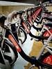 Good way to get around London (captainmorganme) Tags: city transport cityoflondon bicycle santander bike uk stratford olympicpark london