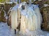 Hitonhauta, frozen water (livejungle) Tags: finland laukaa suomi hitonhauta glacier icicle trees wood spring snow jää jääpuikko jäätikkö lumi kevät rock tree waterfall sky d850 ice travel matkailu nikon24120mm ravine gorge