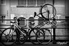 Parking problems. (Digifred.nl) Tags: digifred 2017 amsterdam nikond500 nederland netherlands holland iamsterdam straat street city grachten streetphotography candid blackwhite blackandwhite monochrome cycling bicycle fiets