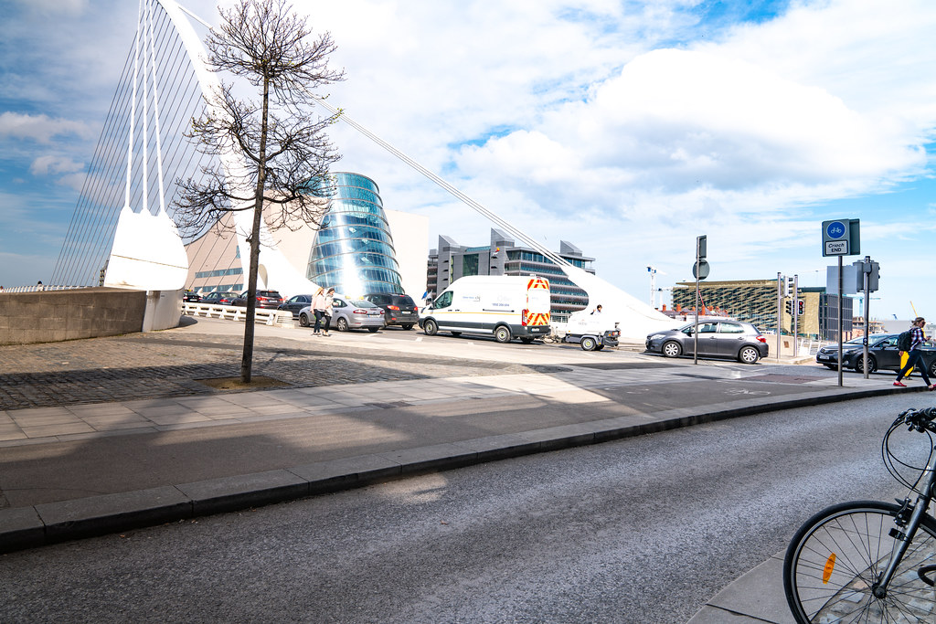 VIEWS OF THE SAMUEL BECKETT BRIDGE [APRIL 2018]-138420