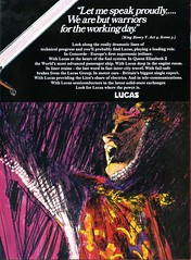 Lucas Advertisement (British Motor Industry Heritage Trust Archive) Tags: lucascollection lucas advertisement socialhistory vintage history theatre arts rsc royalshakespearecompany shakespeare