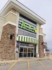 Needler's entrance (Nicholas Eckhart) Tags: america us usa 2018 marion indiana in retail stores needlers fresh market former reuse marsh supermarket groceries