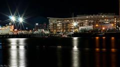 Coast Guard Headquarter (kuntheaprum) Tags: cityofboston nightscape longexposure nikon d80 samyang 85mm f14 sigma 50mm water boat