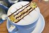 24k Latte (jpellgen (@1179_jp)) Tags: latte latteart coffee mocha cafeastoria astoria drinks drink food foodporn twincities saintpaul stpaul minnesota mn midwest usa america nikon d7200 nikkor 35mm gold goldleaf chocolate