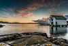 Naust (christerhamre1) Tags: glesvær sotra hordaland vestlandet norge norway natur nature nikon nikond5300 d5300 sigma sigma1020 sea ocean sjø naust boathouse sunset solnedgang mittvestland mittnorge