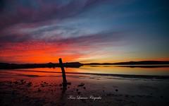 (franlaserna) Tags: lake colors clouds water reflection sunset atardecer sunrise landscape