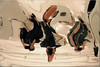 Bern – Zentrum Paul Klee (Bernergieu) Tags: bern switzerland zentrumpaulklee zpk art kunst abstract abstrakt museum reflection distortion selfie spiegelung mirror