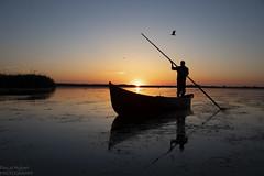 delta 2018--7 (PaHu61) Tags: reflection mirror holidays travel lonelyplanet fisherman water delta danube romania sunrise
