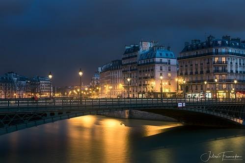 Pont d'Arcole & Île de la Cité, Paris