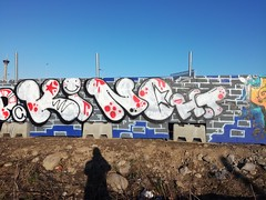 Spring in Pispala (Thomas_Chrome) Tags: graffiti streetart street art spray can wall walls fame gallery hof pispala tampere suomi finland europe nordic illegal vandalism
