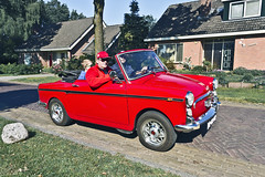 Autobianchi Bianchina Cabriolet 1960 (2119) (Le Photiste) Tags: clay autobianchispadesiomonzaitaly autobianchibianchinacabriolet ca 1960 autobianchibianchina500series1cabrioletedenrocfrance redmania simplyred italiancabriolet borgerthenetherlands thenetherlands oddvehicle oddtransport rarevehicle afeastformyeyes aphotographersview autofocus artisticimpressions alltypesoftransport anticando blinkagain beautifulcapture bestpeople'schoice bloodsweatandgear gearheads creativeimpuls cazadoresdeimágenes carscarscars canonflickraward digifotopro damncoolphotographers digitalcreations django'smaster friendsforever finegold fandevoitures fairplay greatphotographers peacetookovermyheart hairygitselite ineffable infinitexposure iqimagequality interesting inmyeyes lovelyflickr lovelyshot livingwithmultiplesclerosisms myfriendspictures mastersofcreativephotography niceasitgets photographers prophoto photographicworld planetearthtransport planetearthbackintheday photomix soe simplysuperb slowride saariysqualitypictures showcaseimages simplythebest thebestshot thepitstopshop themachines transportofallkinds theredgroup thelooklevel1red simplybecause vividstriking wheelsanythingthatrolls wow yourbestoftoday oldtimer