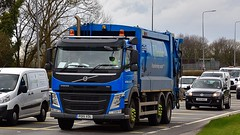 PO15 XDL (Martin's Online Photography) Tags: volvo fm truck wagon lorry vehicle freight haulage commercial transport a580 leigh lancashire nikon nikond7200