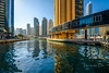 Dubai Marina (Ellen van den Doel) Tags: 2018 oosten emiraten east dubai reflectie city emirates uae vakantie arbische arabie reflection stad marina asia skyscraper water holiday midden arabic skyline azie middle verenigdearabischeemiraten ae