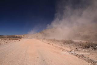 near Ranquil del Norte, dirt-road