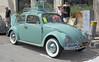 1962 Volkswagen Beetle (Pat Durkin OC) Tags: 1962vw 1962vokswagen beetle green whitewalltires luggagerack luggage suitcases