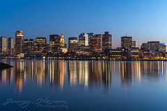 Boston Skyline (Jimmy Harmon) Tags: water ocean harbor boston massachusetts cityscape skyline