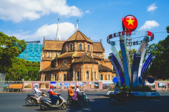 Notre Dame Cathedral, Ho chi minh city Vietnam (Patrick Foto ;)) Tags: architecture asia asian background basilica brick building capital cathedral chi christ christianity church city cityscape colonial culture dame destination downtown famous french high history ho landmark landscape love minh monument notre notredame place praying religion saigon sky skyline spirituality symbol tourism tourist tower town travel urban vietnam vietnamese view virgin hochiminhcity hồchíminh vn