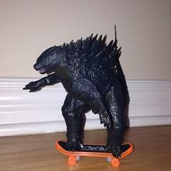 Gojira Hawk Pro (splinky9000) Tags: neca 2014 godzilla legendary pictures action figure toys
